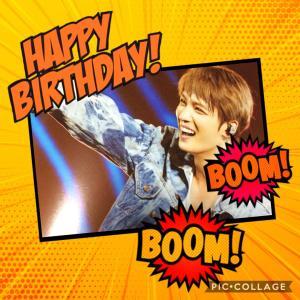 ジェジュン 誕生日おめでとう!!!