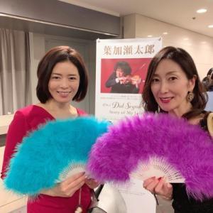 葉加瀬太郎さんのコンサートで盛り上がってきました♪