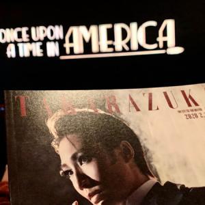 宝塚雪組『ONCE UPON A TIME IN AMERICA』観劇でした