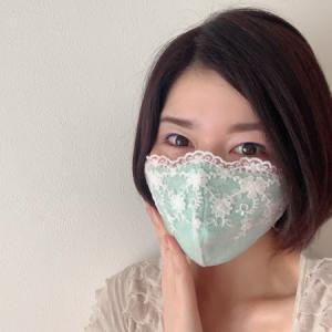 「マスク姿でも、身なりを褒められるなんて、びっくりです」
