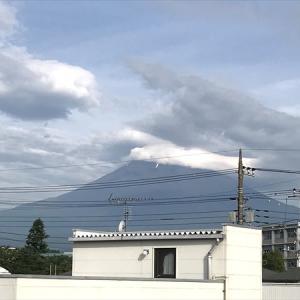 7月を振り返ったら富士山の姿が貴重でした