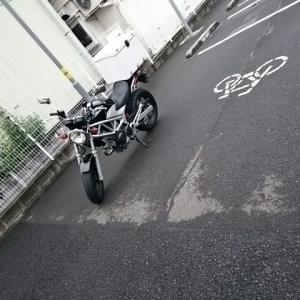 5分ほどVTRを自転車専用駐車場に停めると・・・。