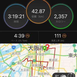 大阪マラソン2019 結果報告