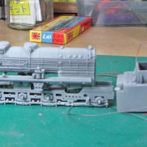 ドイツ蒸気機関車 BR41製作記 その2
