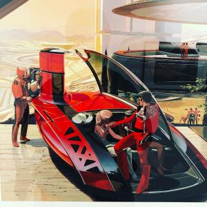 卓越!シド・ミード展の記憶 Excellence! Memory of the Syd Mead exhibition