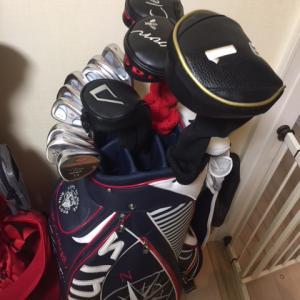 私のゴルフ道具