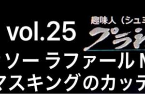 vol.25 ダッソー ラファール M 下面マスキングのカッティング