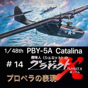 #14 PBY-5A カタリナ プロペラの表現