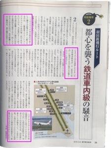 羽田新ルート(週刊東洋経済)