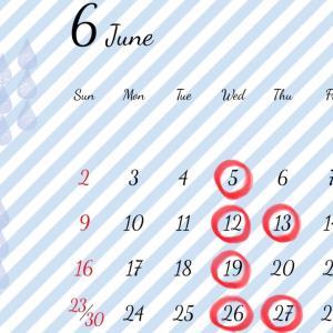 6月スタート!