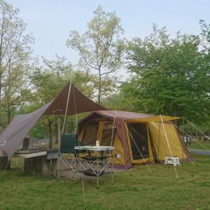 2017年GWのキャンプ(備北オートビレッジ)
