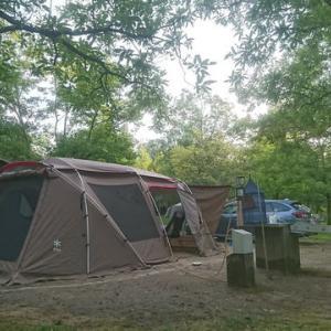2017年お盆のキャンプ(備北オートビレッジ)