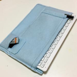 ノートパソコンケースの仕切りを手作りしたら超快適になった件
