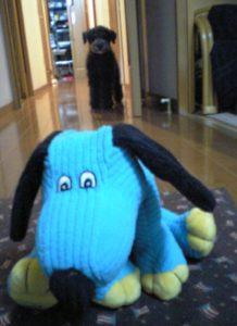 青い犬とがるぅ〜
