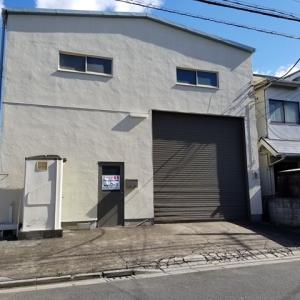 【感謝】川口市元郷4丁目24-2 平屋建て倉庫 38坪