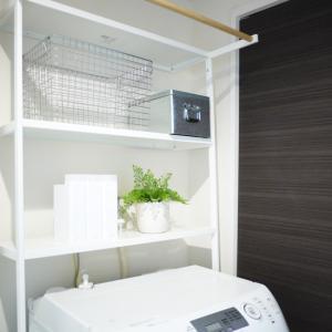 空いているスペースを有効活用!洗面所収納
