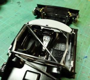 メルセデス AMG GT3 作るよ。#2