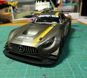 メルセデス AMG GT3 作るよ。#3[完成]