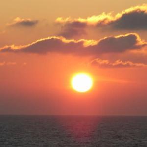 アドリア海の夕日(その1)