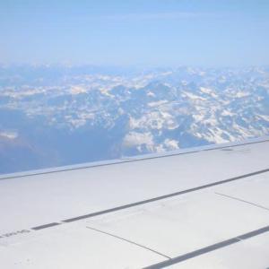 機上からのイタリアアルプス(その1)