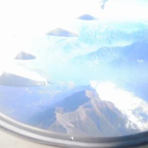 機上からのイタリアアルプス(その2)