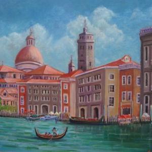 旅の思い出に描いた油彩画(その4)