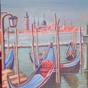 旅の思い出に描いた油彩画(その5)