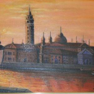 旅の思い出に描いた油彩画(その7)