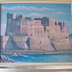 旅の思い出に描いた油彩画(その10)