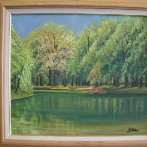 旅の思い出に描いた油彩画(その11)