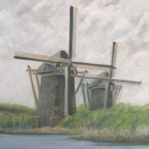 旅の思い出に描いた油彩画(その12)