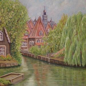 旅の思い出に描いた油彩画(その13)