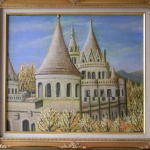 旅の思い出に描いた油彩画(その18)