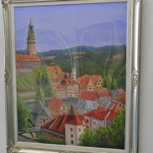 旅の思い出に描いた油彩画(その19