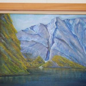 旅の思い出に描いた油彩画(その20)