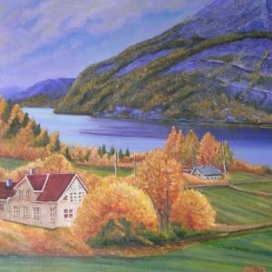 旅の思い出に描いた油彩画(その21)
