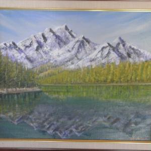 旅の思い出に描いた油彩画(その22)