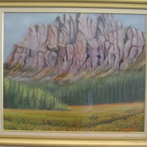 旅の思い出に描いた油彩画(その23)
