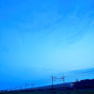 今朝のカシオペア返却回送列車!!