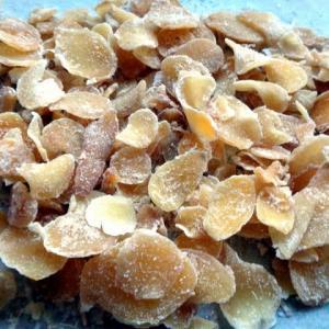 自家製の生姜糖