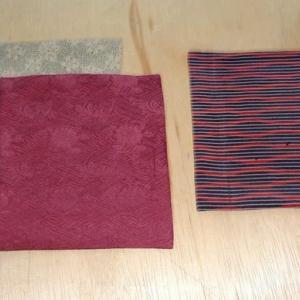 小袱紗を縫う