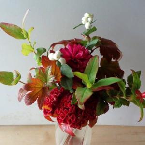 今年も素敵な花束が届く