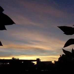 朝、5時の空!