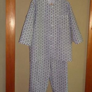 浴衣地からパジャマ完成