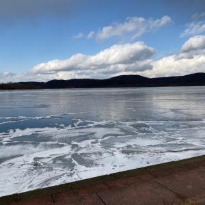 寄り道ー結氷中の網走湖