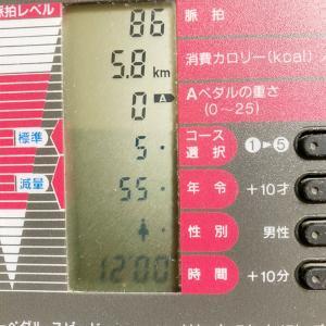 漕いだ日限定自転車日記 10/20 12分間最終美容室