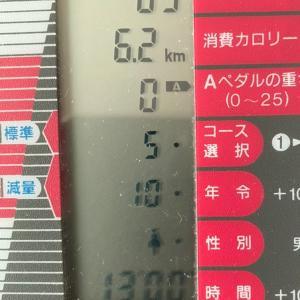 漕いだ日限定 自転車日記 10/21  13分間初日 時間は限られてるからね