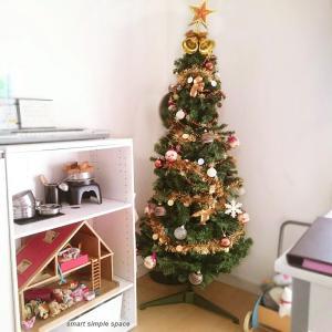 クリスマスツリーって掃除のジャマで収納場所を取ると思っていたけれど
