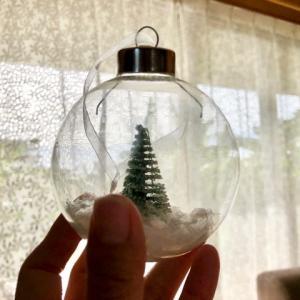【ダイソークリスマス♪】南国のクリスマスにもピッタリだったガラスオーナメントたち♪