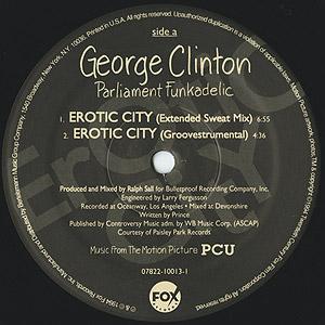 Erotic City / George Clinton, Parliament, Funkadelic